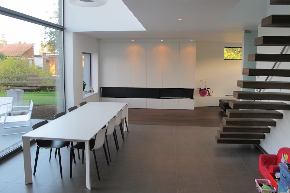 Energiezuinige en duurzame woning in blaasveld lef architect for Architect interieur
